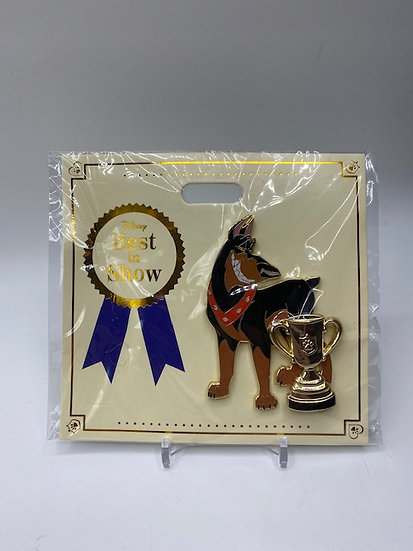 Roscoe WDI Best in Show Dogs LE 300 Pin Oliver and Company