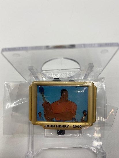 John Henry 2000 Disney Shopping Store Short Films  LE 300 Box Pin