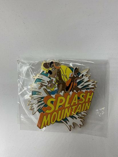 Splash Mountain 30th Anniversary WDI Orange Logo LE 250 Pin Beer Rabbit