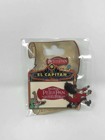 Peter Pan  El Capitan Theater LE 300 Marquee Pin DSF DSSH Captain Hook