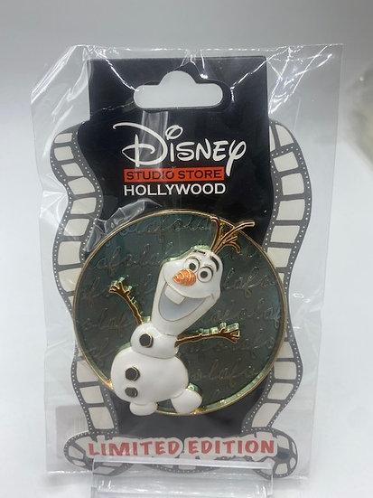 Olaf Cursive Cuties LE 400 Pin DSF DSSH Frozen Snowman