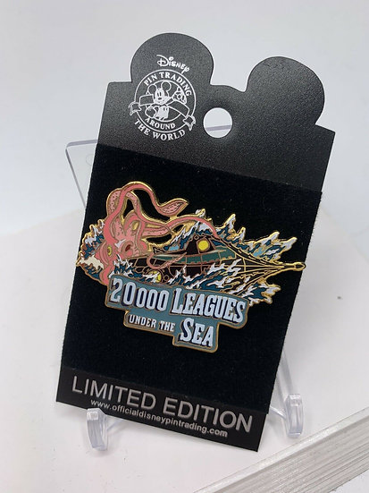 20,000 Leagues Under the Sea Movie Proof LE 250 Pin Shopping Store
