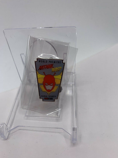 Ant-Man and the Wasp Marvel Global Security LE Pin World Premiere