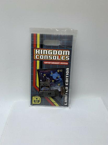 Aladdin DLR WDW Kingdom Consoles  LE 4000 Pin of the Month Genie Jasmine
