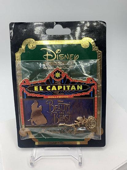 Beauty & Beast Live Action El Capitan Theatre LE  300 Pin DSF DSSH Belle