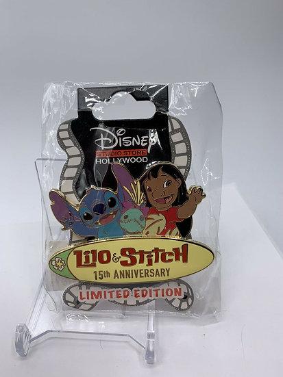 Lilo and Stitch 15th Anniversary LE 200 Surprise Pin DSF DSSH Scrump