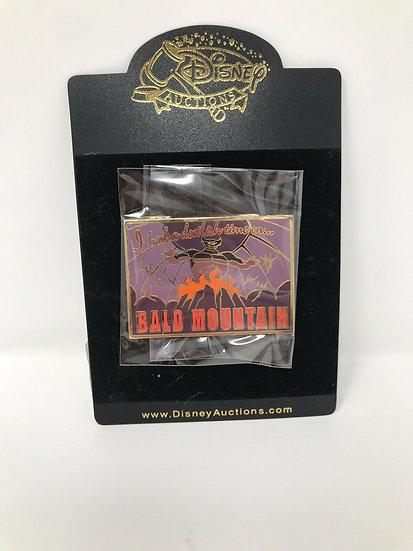 Chernabog Bald Mountain Postcard Auctions LE 100 Pin Fantasia
