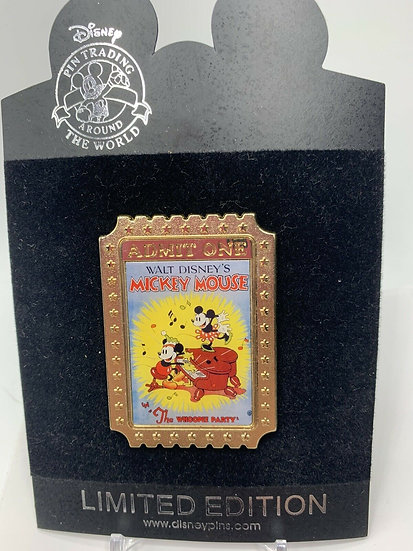 Mickey Mouse Shopping Store Nostalgia Tickets Whoopee Party LE 350 Pin