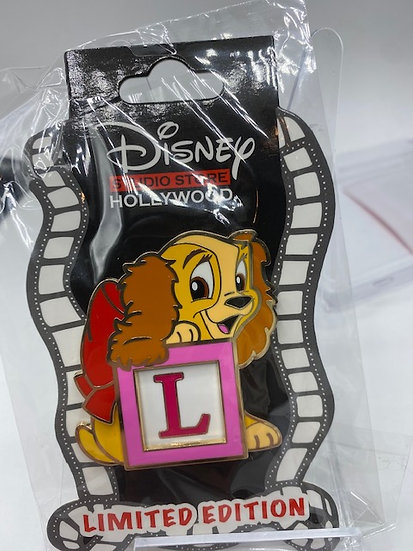 Lady and the Tramp Baby Block LE 400 Pin DSF DSSH