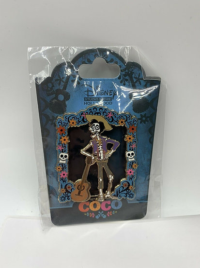 Pixar Coco Hector LE 300 Pin DSF DSSH Stained Glass Guitar