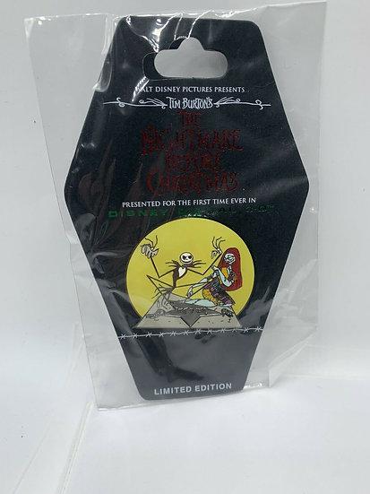 Nightmare Before Christmas NBC Jack Sally Handprints LE 500 Pin DSF DSSH