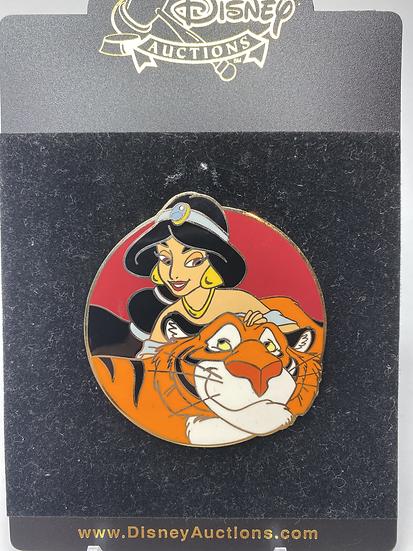 Jasmine and Rajah Princess Best Friends LE 100 Pin Aladdin Auctions
