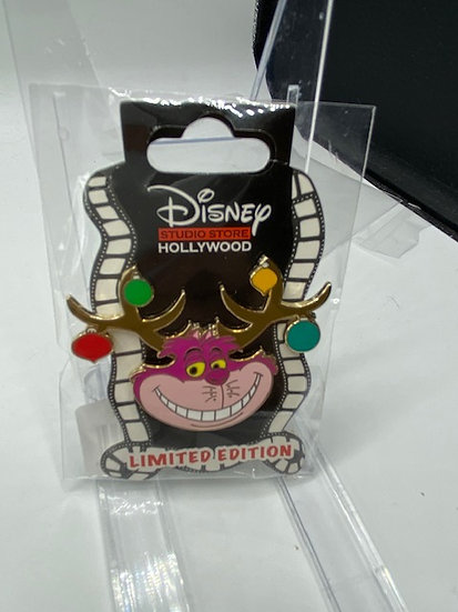Cheshire Cat Holiday 2020 Christmas Antlers LE 400 Pin DSF DSSH Alice