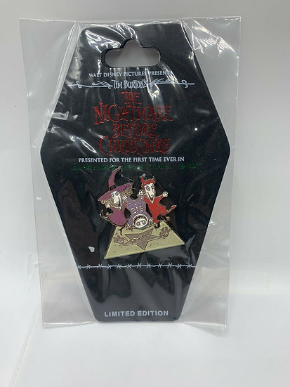 Nightmare Before Christmas NBC Lock Shock Handprints LE 500 Pin DSF DSSH