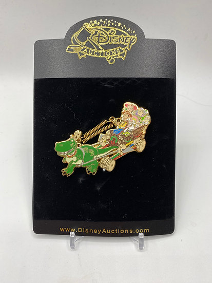 Toy Story Auctions Home for the Holidays LE 100 Pin Sleigh Ride Sled