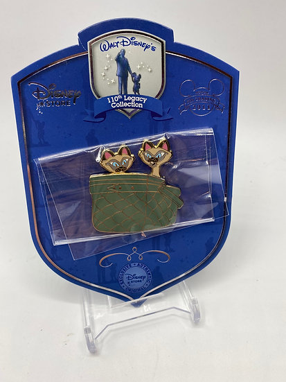 Si & Am 110th Legacy LE 250 Pin Disney Store Lady and the Tramp