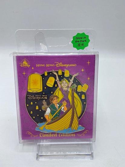 Tangled Hong Kong HKDL Karibuni Marketplace LE 1000 Pin Rapunzel & Flynn