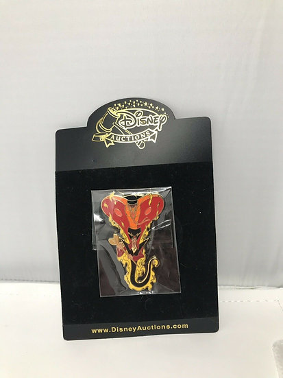 Jafar Cobra Snake Transformations Auctions LE 100 Pin Aladdin Villain