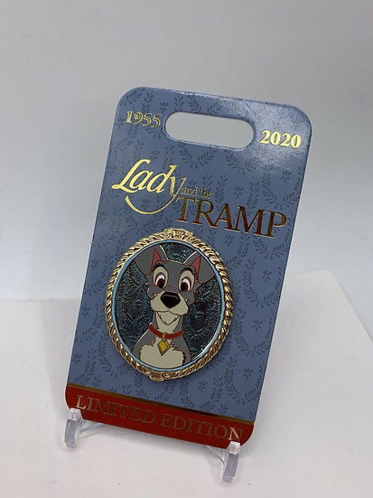 Tramp Portrait LE 4000 Pin Lady and the Tramp Shopping Store