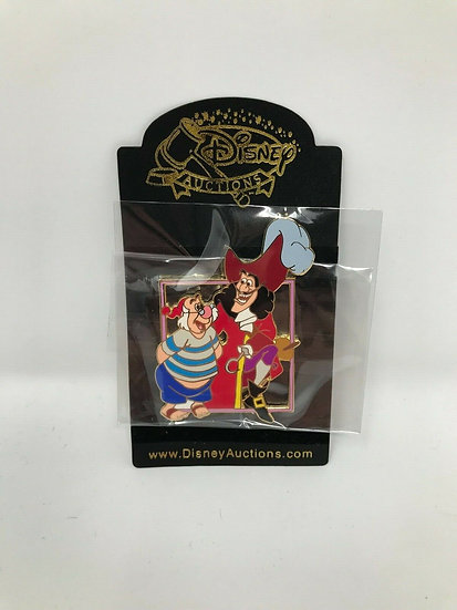Captain Hook and Smee Auctions LE 100 Villains & Sidekicks Pin Peter Pan
