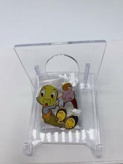 Jiminy Cricket WDW Lights Camera Pins LE 25 Pin Pinocchio Framed