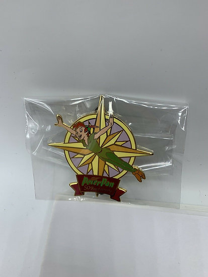 Peter Pan 50th Anniversary Auctions LE 100 Pin Flying