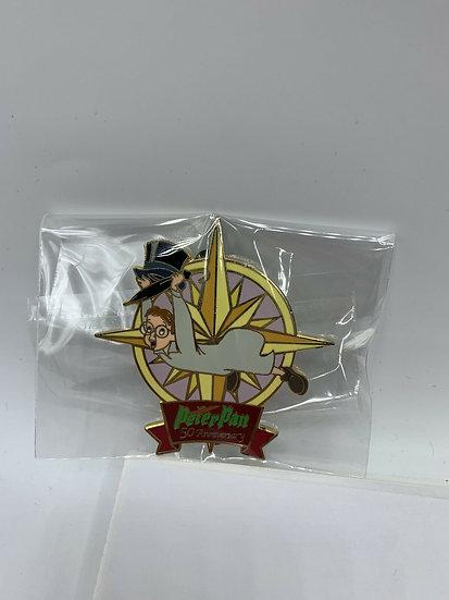 John Darling Peter Pan 50th Anniversary Auctions LE 100 Pin Flying