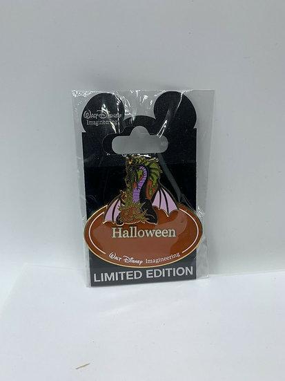 Maleficent WDI Name Tag Dragon Halloween LE 300 Pin Sleeping Beauty