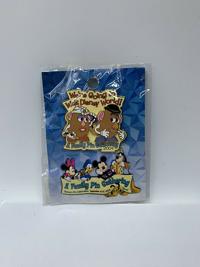 Mr & Mrs Potato Head Packing WDW A Family Pin Gathering LE 1000