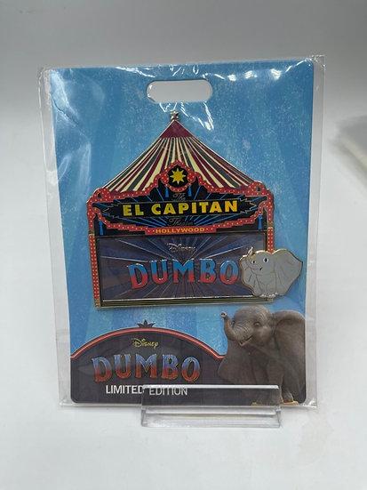 Dumbo Live Action El Capitan Theatre LE 300 Marquee Pin DSF DSSH