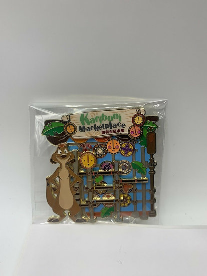 Timon Karibuni Marketplace Hong Kong HKDL LE 300 Pin Game Prize Lion King