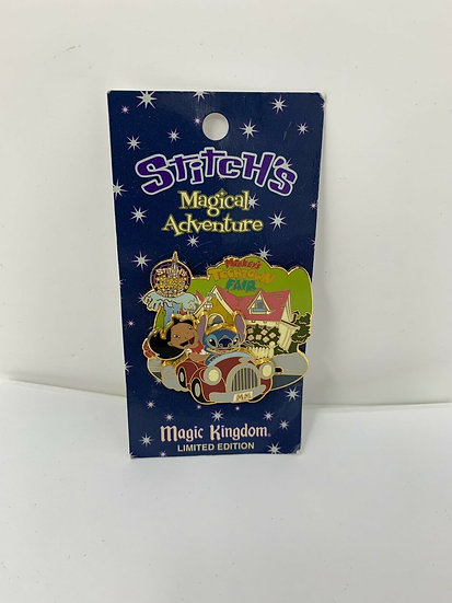 Stitch's Magical Adventure WDW Mickey's Toontown Fair LE 2000 Pin Lilo