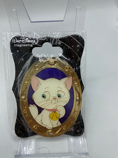 Charlotte's Cat Portraits Gold Frame LE 300 WDI Pin Princess & the Frog
