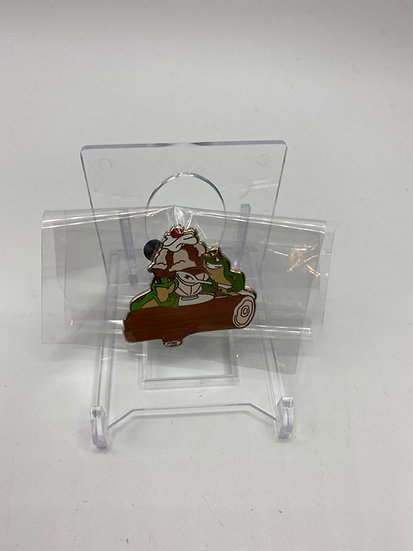 Tiana & Naveen Frogs Log Pin Traders Delight PTD LE 300 DSF DSSH Princess