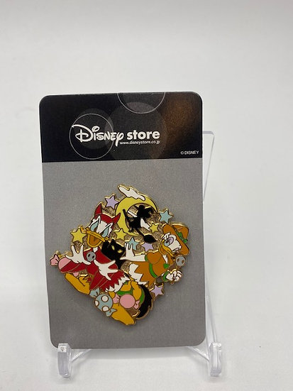 Donald & Daisy Duck Japan Store Mall JDS Halloween Fun House LE 800 Pin