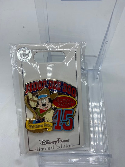Mickey Hoop Dee Doo Musical Revue 45th Anniversary LE Pin DLR WDW Cast