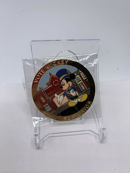 Mickey Mouse for Mayor Auctions WDWLE 1000 Pin Vote