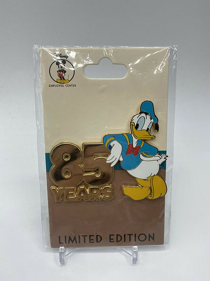 Donald Duck 85th Anniversary LE 150 Pin Years DEC