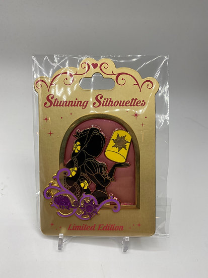 Rapunzel Stunning Silhouette LE 300 Stained Glass Pin Shopping Store