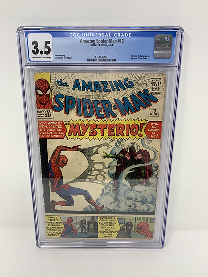 Amazing Spider-Man #13 3.5 Comic Book Graded CGC 1st Appearance of Mysterio