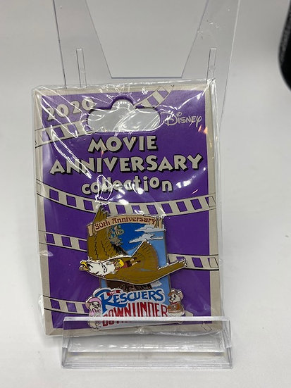 The Rescuers Down Under 30th Anniversary LE 500 WDW DLR Cast Pin Movie