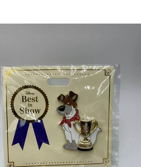 Dodger WDI Best in Show Dogs LE 300 Pin Oliver and Company