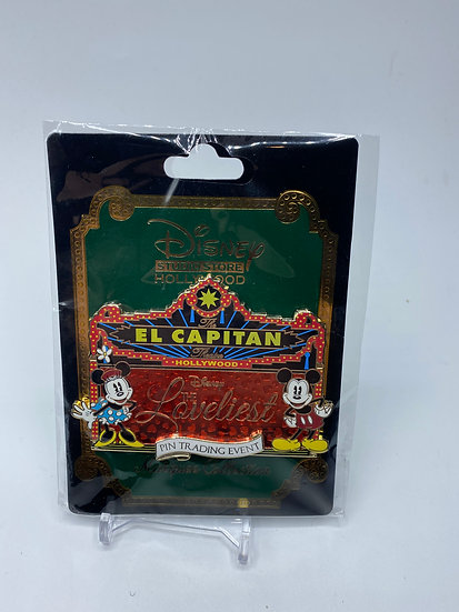 The Loveliest Pin Trading Event LE 400 Marquee Pin DSF DSSH Mickey Minnie