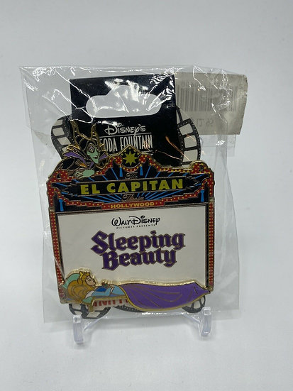 Sleeping Beauty El Capitan Theatre Marquee LE 300 Pin Aurora Maleficent DSF DSSH