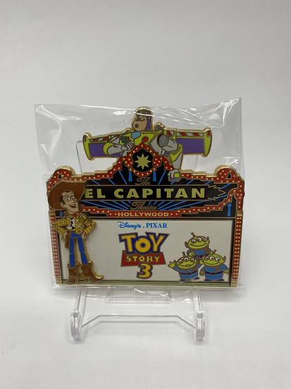 Toy Story 3 LE 500 Marquee Pin DSF DSSH Buzz Woody LGM