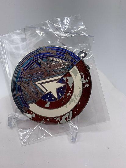 Captain America Civil War Shield Icon LE 800 Pin Iron Man Store Marvel