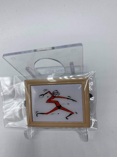 Mrs. Incredible Elastagirl Pixar Animation Studios LE 15 Frame Pin
