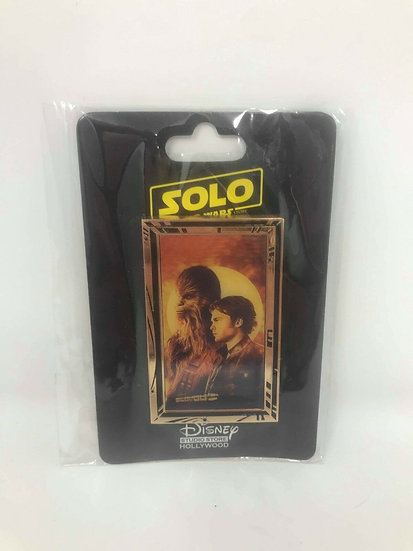 Star Wars Solo Han and Chewie LE 400 Pin DSF DSSH