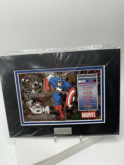 Captain America Character Key Acme  LE 300 Pin Marvel Avengers