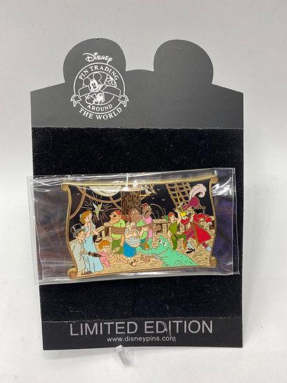 Peter Pan Storybook LE 500 Jumbo Pin Hook Wendy Michael Shopping Store